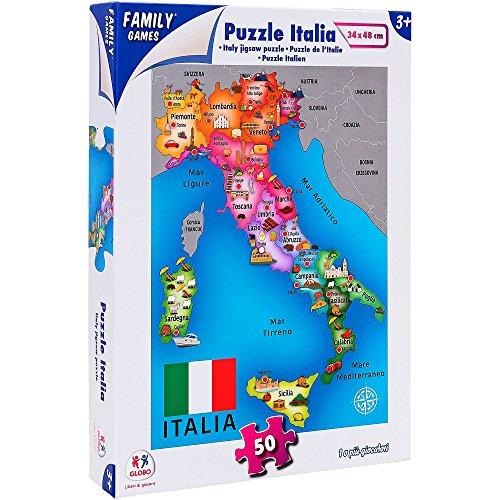 Family Games 40324 - Puzzle Italia