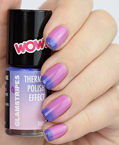 THERMO NAIL POLISH EFFECT – VIOLET TO ROSE - NEW! THERMO NAGELLACK