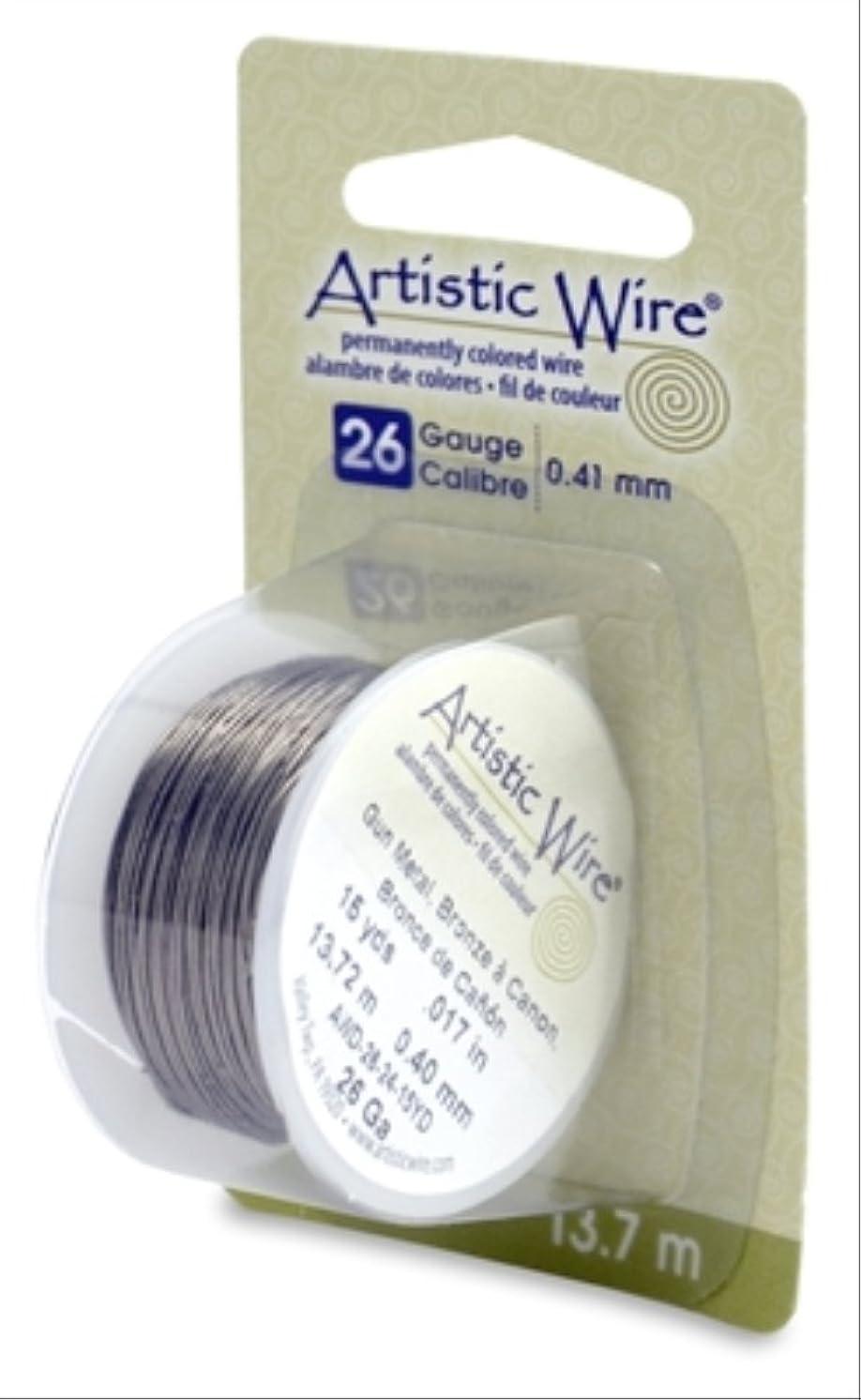 Artistic Wire 26-Gauge Antique Brass, 15-Yards