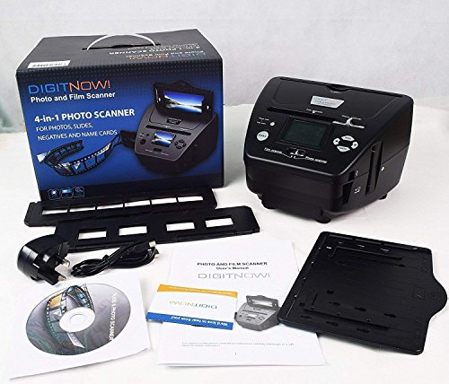 DIGITNOW All-in-One High Resolution 16MP Film Scanner, with 2.4