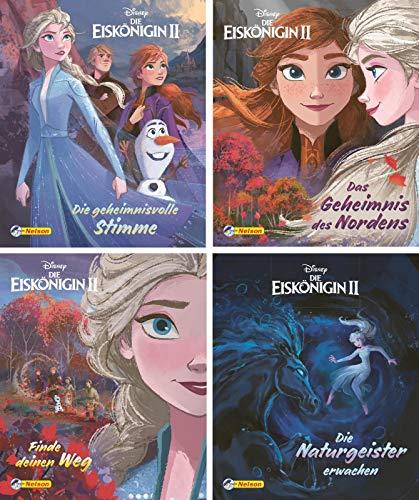 Nelson Mini-Bücher: 4er Disney Die Eiskönigin 2 1-4