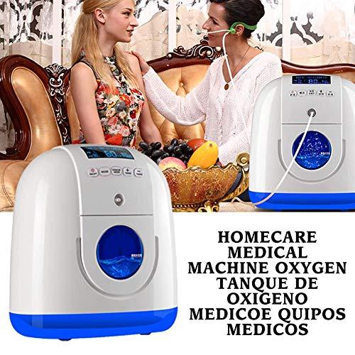 SEESEE.U Generador portátil de concentrador de oxígeno con cánula Nasal Cuidado de la casa Máquina médica Uso en Viajes