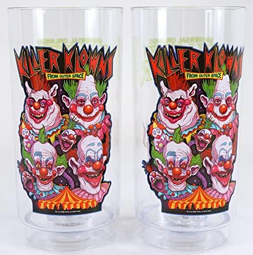 Universal Studios Halloween Horror Nights 2019 Killer Klowns Light Up Cups Set of 2