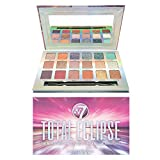 W7 | Total Eclipse Pressed Pigment Palette Makeup | Tones: Cream Matte, Shimmer & Chromes | Colors: Soft Pinks, Purples, Blues and Golds | Cruelty Free, Vegan Makeup For Women by W7 Cosmetics