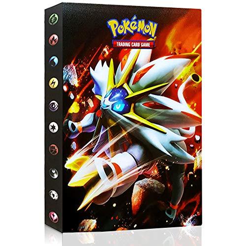 WOJIM - Álbum de Pokemon, Álbum Titular de Tarjetas Pokemon,Pokemon Cards Album,30 páginas 240 Tarjetas - 16#
