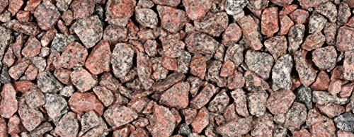 Gartenwelt Riegelsberger Ziersplitt Granitsplitt ROSA/ROT 8-16 mm, 20 kg Sack, Granit, Splitt, Gabionenfüllung, Gabione, Kies