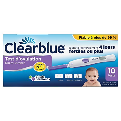 Test d'Ovulation Boite de 10 tests Clearblue