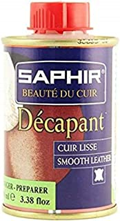 Saphir Decapant Stripper Dye Remover - Smooth Leather Preparer & Deglazer