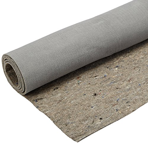 Duo-Lock Reversible Felt and Rubber Non-Slip Rug Pad, Size: 8' x 10' Rug Pad