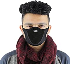 BIZZARE Pollution Elastic Mask Disposable Face Mask with Earloop Great for Air Pollution Virus Protection & Personal Health Face Mask