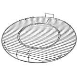 X Home 8835 Hinged Grill Grates for Weber 22.5 inch Charcoal Grills, Kettle, Performer, Gourmet BBQ System Replacement Cooking Grate, 21.5' x 21.5'