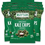 Rhythm Superfoods Kale Chips, Original, Organic...