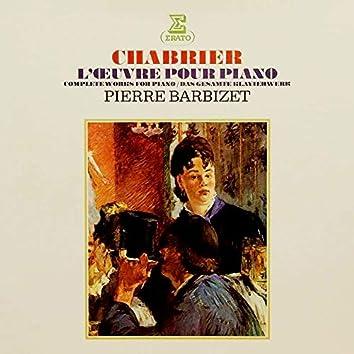 Chabrier: L'œuvre pour piano