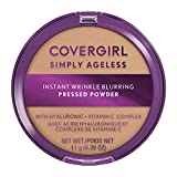 Covergirl Simply Ageless Instant Wrinkle Blurring Pressed Powder, Buff Beige, 0.39 Oz.