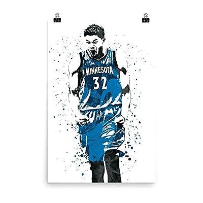 Karl-Anthony Towns Minnesota Timberwolves Poster