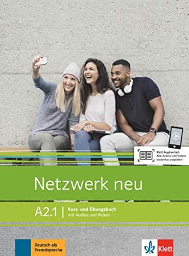 Netzwerk neu A2.1: Kurs- und Übungsbuch mit Audios und Videos (Netzwerk neu / Deutsch als Fremdsprache)