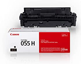 Canon Genuine Toner, Cartridge 055 Black, High Capacity...