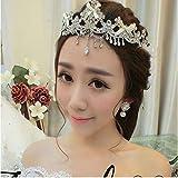 Q_xntsl Hochzeit Krone Brautdiadem Brautkronenkopfschmuck Koreanisches selbst gemachtes...