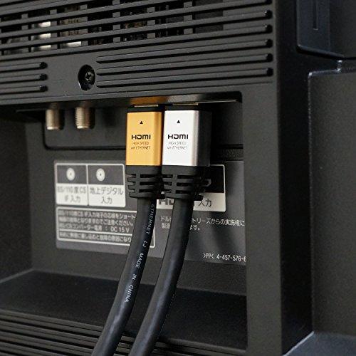 HORICハイスピードHDMIケーブル15mAWG24ゴールド4K/60pHDR3DHECARCリンク機能HDM150-028GD