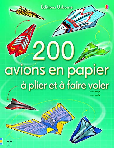 Livre origami avion en papier