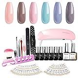 Best SALLY HANSEN gel nail kit - Modelones Gel Nail Starter Kit, with 6W LED Review