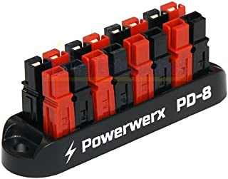 Valley Enterprises Powerwerx 8 Position Power Distribution Block for use with Anderson Powerpole Connectors 15/30/45 Amp PD-8