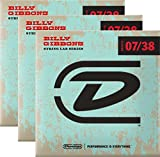 Dunlop Rev. Willy's Electric Guitar Strings 07-38 - 3 Pack