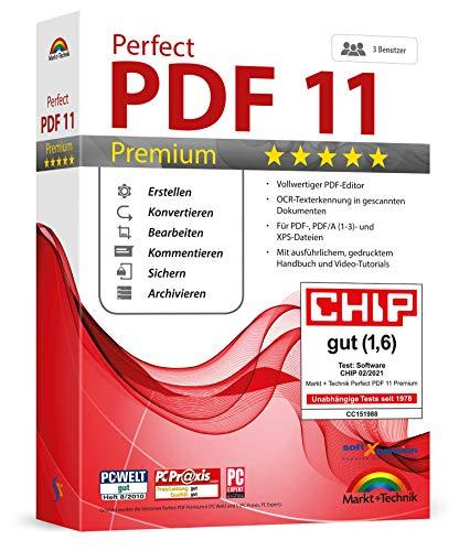 Markt  Technik Perfect PDF 11 PREMIUM Bild