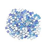 SUPVOX 300 Pezzi Colorati Tessere di Mosaico di Vetro per Piastrelle Fai da Te Piatti corn...