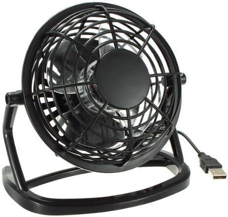 iMBAPrice Quiet USB Mini Desktop Fan with ON/OFF Switch - Black