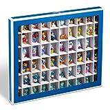Leuchtturm Sammelbox, Setzkasten K60 mit 60 Fächern, blau