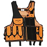 Sixth June | Mens Fashion | Regular Fit Light Weight Fully Adjustable Customizable Sleeveless Tactical Vest with Pockets (One Size)