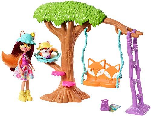 Enchantimals FRH45 - Felicity Fox i Flick przygoda placu zabaw