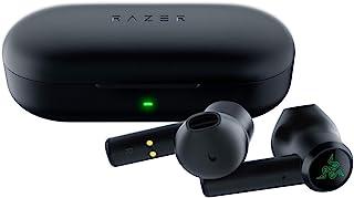Razer Hammerhead True Wireless Bluetooth Gaming Earbuds: 60 ms Baja latencia – 13 mm Controladores – IPX4 Resistente al Agua – Bluetooth 5.0 Auto emparejamiento – Touch habilitado – Negro clásico