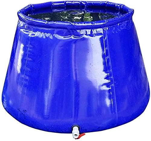 TXXM Cubo plegable Cubo de almacenamiento de agua de emergencia resistente a la sequía para el hogar Contenedor de almacenamiento de agua plegable al aire libre con el grifo, Porta.Cubo plegable 0.8 *