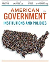 American Government: Institutions and Policies PDF