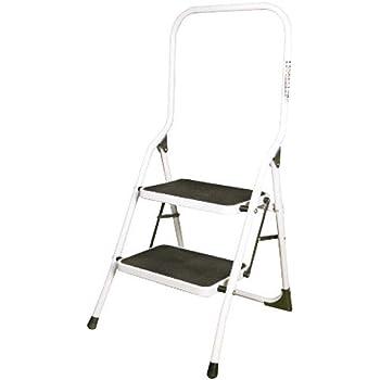 ORYX 23010100 Escalerilla Acero 2 Peldaños Uso Doméstico Plus: Amazon.es: Bricolaje y herramientas