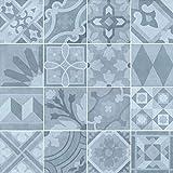 Nais Cerámica para suelos y paredes Colección Antiqua (20x20 cm) - Caja de 1 m2 (25 piezas), Encants Alabaster