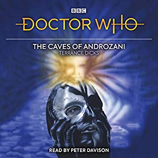 Doctor Who and the Caves of Androzani audiobook cover art