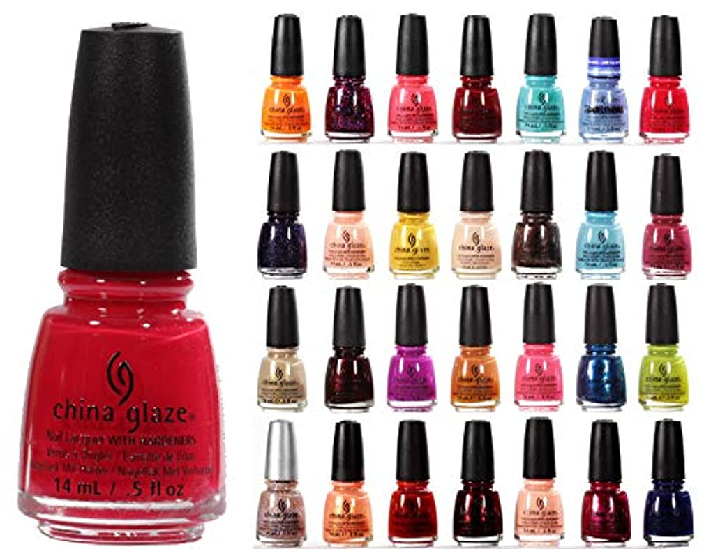 China Glaze Nail Lacquer Polish 12 Piece Bundle Mixed Color Surprise Lot