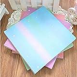 70 piezas nuevo cuadrado 15 * 15 cm origami papel estrella serie patrón DIY niños papel origami manualidades scrapbook patrón de papel decorativo