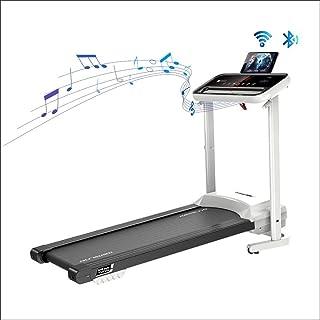 CAGARNY Folding Treadmills for Home,Electric Treadmills for Running with Wireless Bluetooth Speaker, Mute Shockproof Mini Treadmill Wide Run Belt Smart Sport Machine