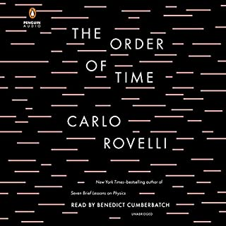 The Order of Time audiobook cover art