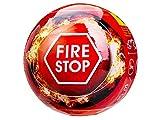 DREL Extincteur Boule de feu 2 kg, Temps de réponse Automatique: 3-5 Secondes, avec capteur d'incendie