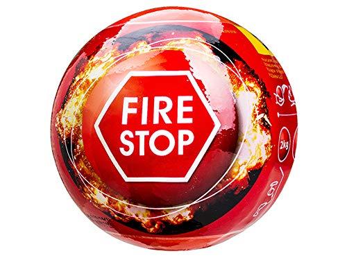 DREL Estintore a palla di fuoco da 2 kg, tempo di risposta automatico: 3-5 secondi, con sensore antincendio
