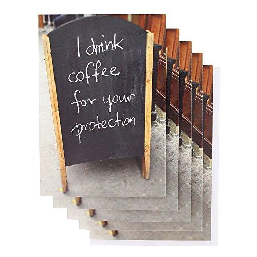 Drink koffie Gevouwen notecards - Set van 10