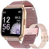 Smartwatch, Reloj Inteligente Impermeable IP68 para Hombre Mujer , Pulsera de Actividad Inteligente con Monitor de Sueño Contador de Caloría Pulsómetros...