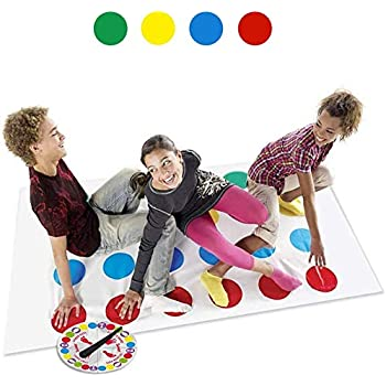Funny Kids Adult Body Twister Moves Mat Board Game Group Outdoor Sport Toy GY