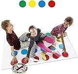 LOVEXIU Teamspiel, Familiespel Balance Floor Spiel Pad Mat, Partyspel Grappige Behendigheidsspellen...
