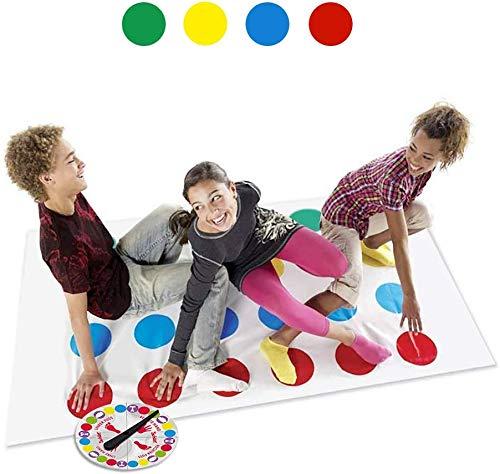 LOVEXIU Teamspiel, Familiespel Balance Floor Spiel Pad Mat, Partyspel Grappige Behendigheidsspellen Voor kinderen en volwassenen